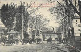 CPA - 06- Nice  -  Avenue Malaussène - Pont Du Chemin De Fer - Treinverkeer - Station
