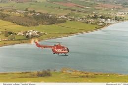 Devon Air Ambulance - Hélicoptère - Returning To Base , Dawlish-Warren  - Ambulance De Secours - Helicopters