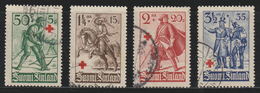 FINLAND - 1940 - ( The Surtax Aided The Finnish Red Cross ) - As Scan - Used Stamps