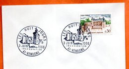 41 VENDOME   LES HUIT JOURS     1966  Lettre Entière N° AB 648 - Gedenkstempels