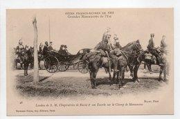 - CPA FÊTES FRANCO-RUSSES DE 1901 - Grandes Manoeuvres De L'Est - Landau De L'Impératrice - Editions Neurdein N° 28 - - Histoire