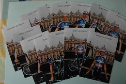 CYCLISME: CYCLISTE : EQUIPE AMORE & VITA 2004 13 PHOTOS KODAK - Cyclisme