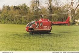 Devon Air Ambulance - Hélicoptère - Preparing To Lift Off  - Ambulance De Secours - Helicopters