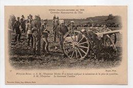 - CPA FÊTES FRANCO-RUSSES DE 1901 - Grandes Manoeuvres De L'Est - Witry-les-Reims - Editions Neurdein N° 37 - - Histoire