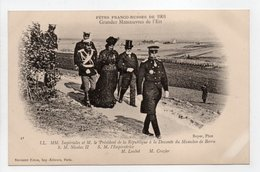- CPA FÊTES FRANCO-RUSSES DE 1901 - Grandes Manoeuvres De L'Est - Editions Neurdein N° 41 - - Histoire