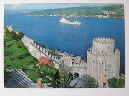 Istambul Rumeli  Hisan / Cargo  Ship  / Turkiye  / Turkey - Commercio