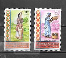 TIMBRE NEUF  SANS GOMME  DE DJIBOUTI DE 1992 N° MICHEL 569/70 - Djibouti (1977-...)