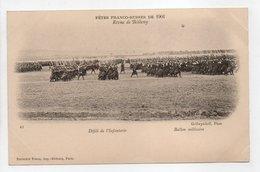 - CPA FÊTES FRANCO-RUSSES DE 1901 - Revue De Bétheny - Défilé De L'Infanterie - Editions Neurdein N° 43 - - Histoire