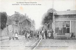 SAINT-BLIN --La Grand' Rue Et La Porte Des Dimes -(Commerce Cycles Et Bicyclettes ALCYON ) - Frankrijk
