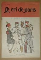 Le Cri De Paris N°590 17/05/1908 La Police Au Maroc D'après Naudin - Moriss - Publicité Machine à écrire Lambert - Journaux - Quotidiens