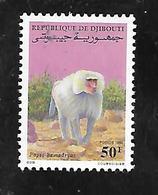 TIMBRE NEUF  SANS GOMME  DE DJIBOUTI DE 1990 N° MICHEL 545 - Djibouti (1977-...)