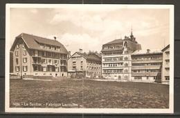 Carte P De 1931 ( Le Sentier / Fabrique Lecoultre ) - VD Vaud