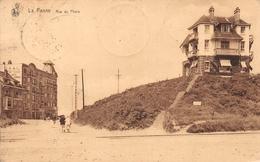La Panne - Rue Du Phare ( 6 Timbres) - De Panne