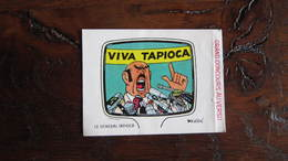 TINTIN AUTOCOLLANT LA VACHE QUI RIT  GENERAL TAPIOCA  HERGE - Tintin