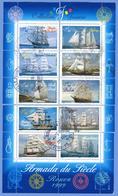 N°YT 3269 à 3278 Armada Du Siècle Rouen - Bloc-feuillet  N°25 Reconstitué - Oblitérés