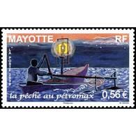 Timbre N° 222 Neuf ** - La Pêche Au Pétromax - Mayote (1892-2011)