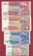 Zaïre 8 Billets 5 En UNC Et 3 Dans L 'état - Zaïre