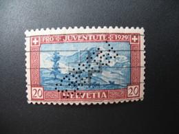 Perforé  Perfin  Suisse  à Voir ;   Perforation   PROGRES   à Voir    Ref  P 13 - Perfins