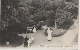 BREST - Jardin Des Rampes Du Port De Commerce. Personnages. Carte Animée. - Brest