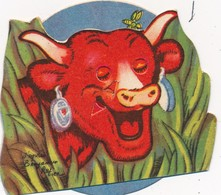 J57 - Publicité La Vache Qui Rit - Personnage Animé Benjamin Rabier - La Vache Qui Rit - Système à Roulette - Sonstige