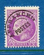 France - Préoblitérés - YT N° 91A - Neuf Sans Charnière - 1922 à 1947 - Preobliterati