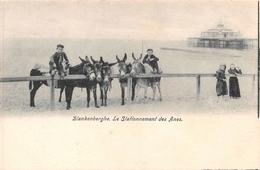 Blankenberghe - Le Stationnement Des ânes - Blankenberge