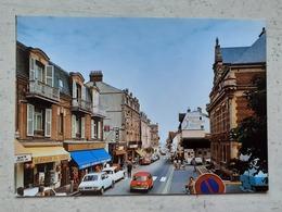 CPSM 14 VILLERS-sur-MER Rue Principale - Villers Sur Mer