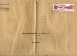 France N° 2288 Y. Et T. Vienne Poitiers Notre Dame Cachet Type A9 Du 18/05/1984 Sur Lettre - Marcophilie (Lettres)