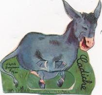 J57 - Publicité La Vache Qui Rit - Personnage Animé Benjamin Rabier - L'Ane Cadiche - Système à Roulette - Autres