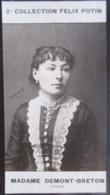 Virginie Demont-Breton Peintre Et Poète Née à Courrières (Fille De Jules Breton)- 2ème Collection Photo Felix POTIN 1908 - Félix Potin
