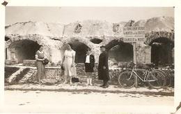Photographie Ancienne D'un Fort De 14-18, Visite Du Fort De La Pompelle Près De Reims (51), Photo De 1937 - Guerre, Militaire