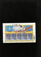 Belgie 4047 Belgian Congo Flag Map 2010 Velletje Plaatnummer 2 MNH - Panes