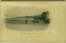 CPA FRANCE - MARTIGUES - PONT DE FERRIERE -LIB. ASTIER - PHOTO - MAILED 1900 (BG7978) - Martigues