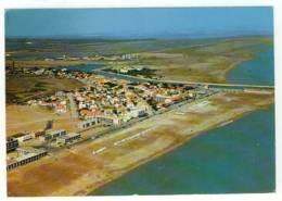 11 - CM51236CPM - PORT LA NOUVELLE - Vue Générale Sur La Plage Et Le Canal, Par Avion - Très Bon état - AUDE - Port La Nouvelle