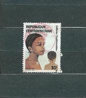 Timbre Oblitére De Centrafricaine 1986 - Centrafricaine (République)
