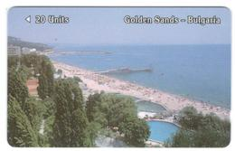 BULGARIA -  BETKOM - GPT - FIRST ISSUE - Golden Sands, 20 UNITS - 13 000ex - Bulgaria