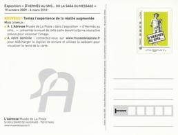 ENTIER De L'ADRESSE-MUSÉE De La POSTE - D'HERMES Au SMS - Postal Stamped Stationery