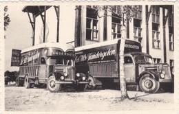 Brussel, Bruxelles, Camion, Vrachtwagen, Déménagements, Vandergoten-Fils, 2 Scans, - Camions & Poids Lourds