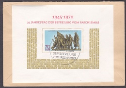 DDR 1970 - Mi.Nr. Block 32 - Ersttagsbrief FDC - FDC: Covers