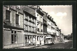 CPA Cormeilles, Rue De L`Abbaye, Vue De La Rue - Zonder Classificatie