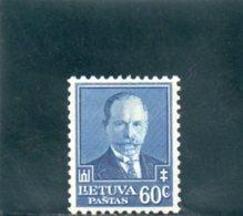 LITUANIE 1934 * - Litauen