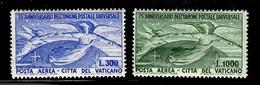 Vatican Poste Aérienne YT N° 18/19 Neufs ** MNH. TB. A Saisir! - Posta Aerea