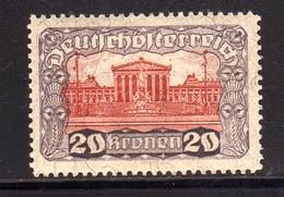 AUSTRIA ÖSTERREICH 1919 1920 PARLIAMENT BUILDING PARLAMENTO 20K MH - Nuovi
