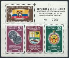 Colombie YT Bloc 19 XX / MNH - Colombia