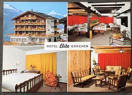 Grächen Hotel Elite/ Mehrbildkarte - VS Valais