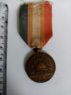 Médaille UNC Unis Comme Au Front Attribuée - Frankrijk