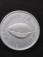 Republique De Guinee - Guina 50 Cauris 1971 - 1er Mars 1960 - Guinea