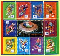 """Bloc-feuillet  N°YT 19 Reconstitué """"Coupe Du Monde De Football 1998"""" - Blocs & Feuillets"""