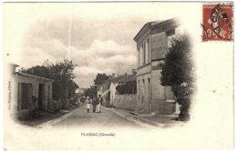 33 - B59254CPA - PLASSAC - Sans Légende - Grande Rue - Carte Pionnière - Assez Bon état - GIRONDE - France
