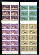 Nouvelles-Hébrides YT N° 203/206 En Blocs De 10 Timbres Neufs ** MNH. TB. A Saisir! - Légende Française